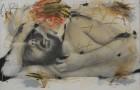 Schlaf, 1973-74; Arnulf Rainer
