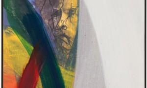 Arnulf Rainer: Ohne Titel, 2009, Leimfarbe auf Leinwand , 82 x 59 cm © Atelier Arnulf Rainer. Foto: Robert Zahornicky © VG Bild-Kunst, Bonn 2015