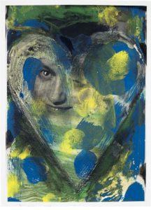 Jim Dine HELGA, 2009. Fotoradierung 111,5 x 80,4 cm. Kunstverlag Galerie Till Breckner