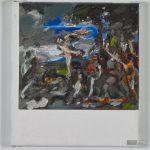 """Toscanelli nach Tizian, """"Bacchus und Ariadne"""", 25 x 22 cm, Acryl auf Leinwand, 2014. © Courtesy Galerie Till Breckner, Düsseldorf, Foto: Ivo Faber"""