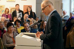 Dr. Lothar Schröder (Leiter der Kulturredaktion, Rheinische Post) © Foto: Kaspar Achenbach