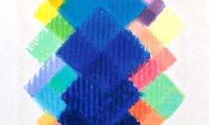 Heinz Mack, Sternblume 2011, Siebdruck mit 32 Farben