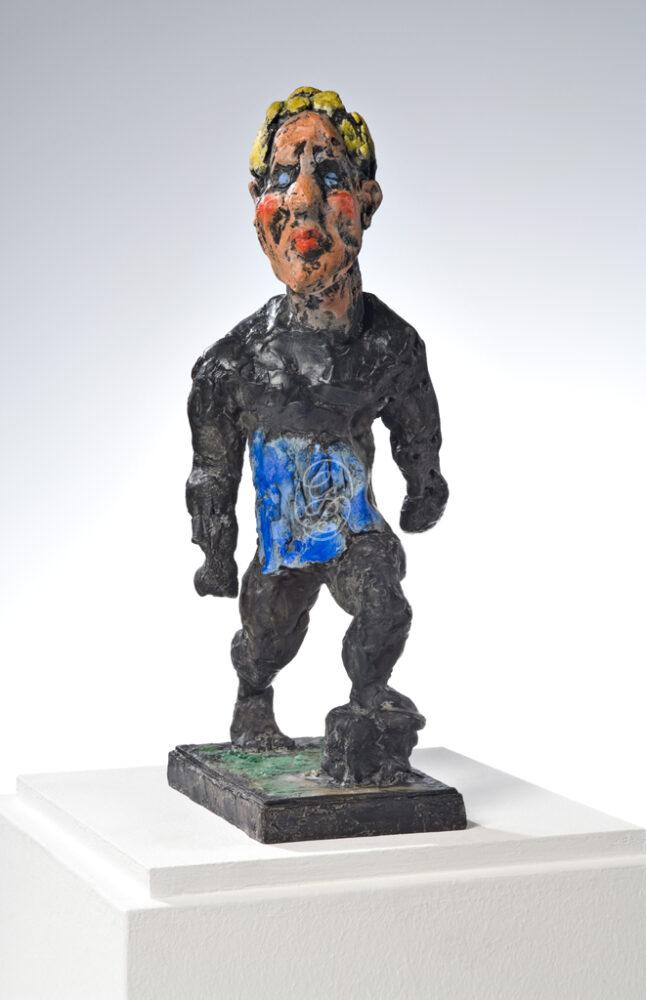 Markus Lüpertz Skulptur Hölderlin 2012