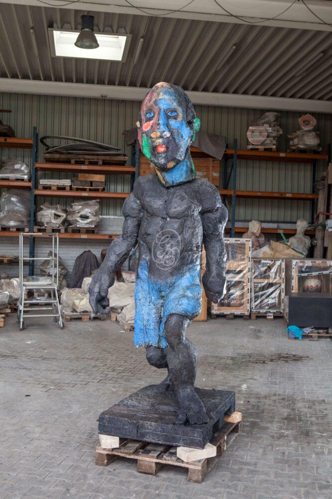 Markus Lüpertz Hölderlin Skulptur