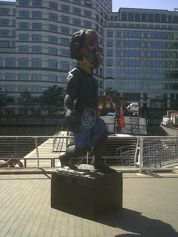 """Markus Lüpertz London: Skulptur """"Der Morgen oder Hölderlin"""" 2012 Olympische Spiele"""