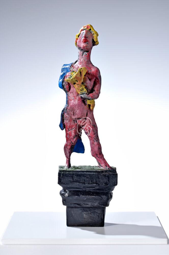 Markus Lüpertz Skulptur Fortuna, Bronze, 2013, Kunstverlag Till Breckner