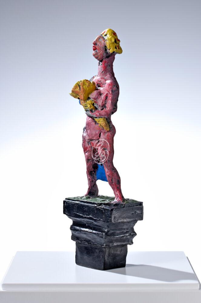 Markus Lüpertz Skulptur Fortuna2013 Seitenansicht