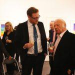 Prof. Heinz Mack im Gespräch mit Till Breckner - Foto © Galerie Breckner GmbH, Düsseldorf 2013