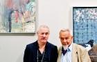 Damien Hirst und Arnulf Rainer