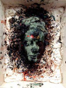 Totenmaske von Walhalla 1980-88