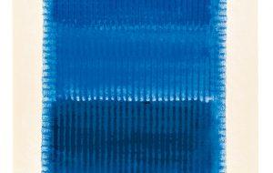 Heinz Mack: Blue Note, Siebdruck 2013