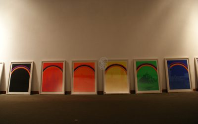 Otto Piene: Rainbow Serie. TMOCA, Tehran. Foto: Till Breckner