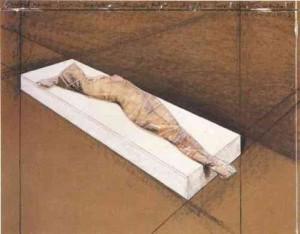 Christo - Wrapped Woman. 1996. Kunstverlag Galerie Till Breckner.