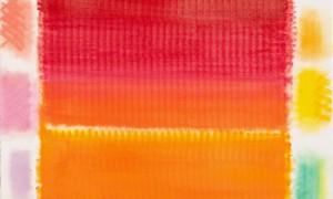 Heinz Mack - Ohne Titel. 2012. Pastellkreide. Kunstverlag Galerie Till Breckner