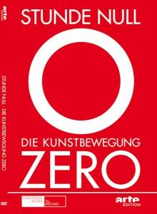 Mack, Piene, Uecker: DVD Stunde Null - Zero. DVD Cover. Kunstverlag Galerie Till Breckner