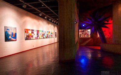 Otto Piene: RAINBOW - Biografie. TMOCA, Teheran. Photo by Mahnaz Sahaf