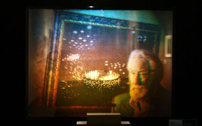 Otto Piene: RAINBOW - Dieter Jung: Hommage an Otto Piene. TMOCA, Teheran. Photo by Till Breckner