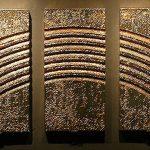 Otto Piene: RAINBOW - Goldener Regenbogen. TMOCA, Teheran. Photo by Till Breckner
