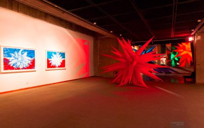 Otto Piene: RAINBOW - Inflatables Tempera. Photo by Mahnaz Sahaf