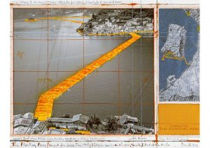 Christos neues Projekt 2016 - the floating piers. Galerie Till Breckner