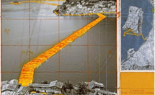 Christos neues Projekt 2016 - the floating piers