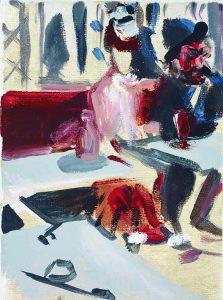 Degas - Der Absinth 2014. Junior Toscanelli -  Malerei Lexikon © Galerie Till Breckner - Foto Lucie Ella photography 2014