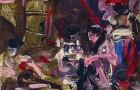 Delacroix - Die Frauen von Algier in ihrem Gemach, 2014. Junior Toscanelli - Malerei Lexikon © Galerie Till Breckner - Foto Lucie Ella photography 2014