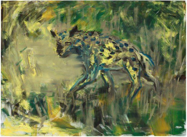 Herbert Brandl - Hyäne - 2015 - 170 x 218 cm