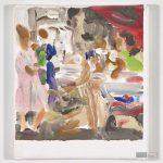 Toscanelli nach Bassano, Enthauptung Johannes', 25 x 22 cm, Acryl auf Leinwand, 2014. © Courtesy Galerie Till Breckner, Düsseldorf, Foto: Ivo Faber
