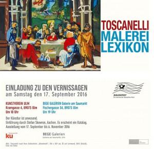 Einladung Junior Toscanelli-Kunstverein Ulm