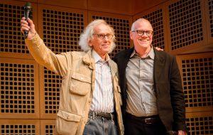 Christo und Beat Wismer © N.Schäfer / LVR-Zentrum für Medien und Bildung