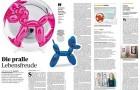 Jeff Koons_Handelsblatt. Balloon Dog_Artikelbild