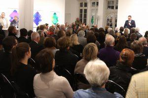 Kultursalon in der Galerie Breckner © Wefelnberg / Rheinische Post