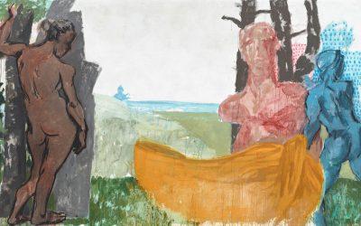 Markus Lüpertz Gemälde