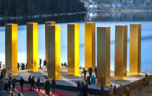 Heinz Mack, The Sky Over Nine Columns, St Moritz