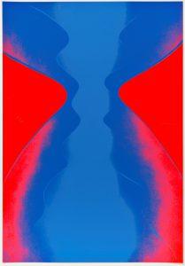 Otto Piene, Ciel Rouge. Ciel Bleu, 1969 © Otto Piene VG Bild-Kunst