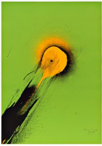 Otto Piene, Ohne Titel, 1975 © Otto Piene VG Bild-Kunst