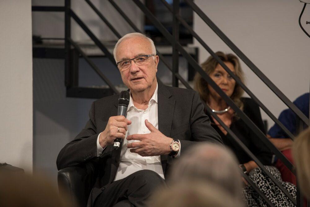 Fritz Pleitgen. Foto: Hojabr Riahi
