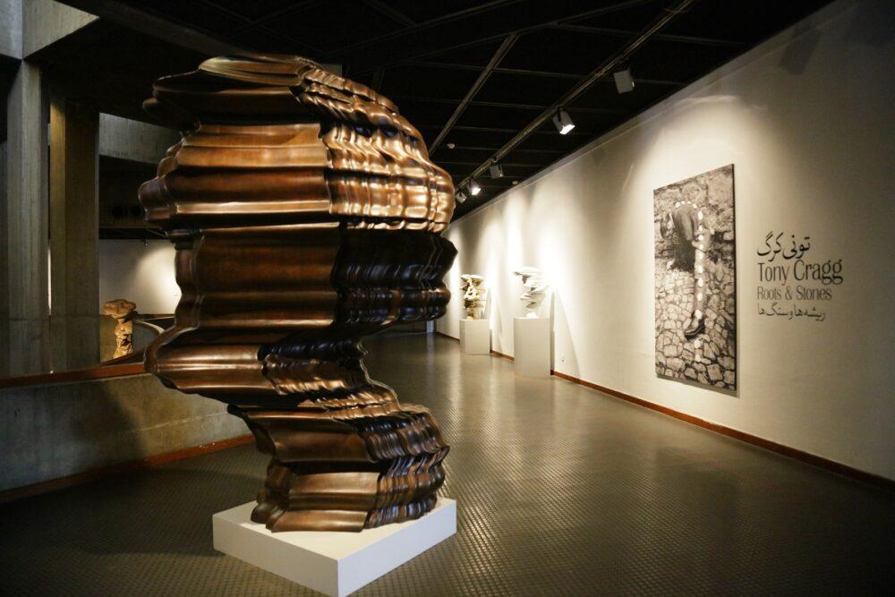 Tony Cragg Iran Tehran Tmoca Exhibition
