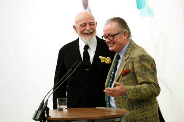 Markus Lüpertz und Bernd Koberling