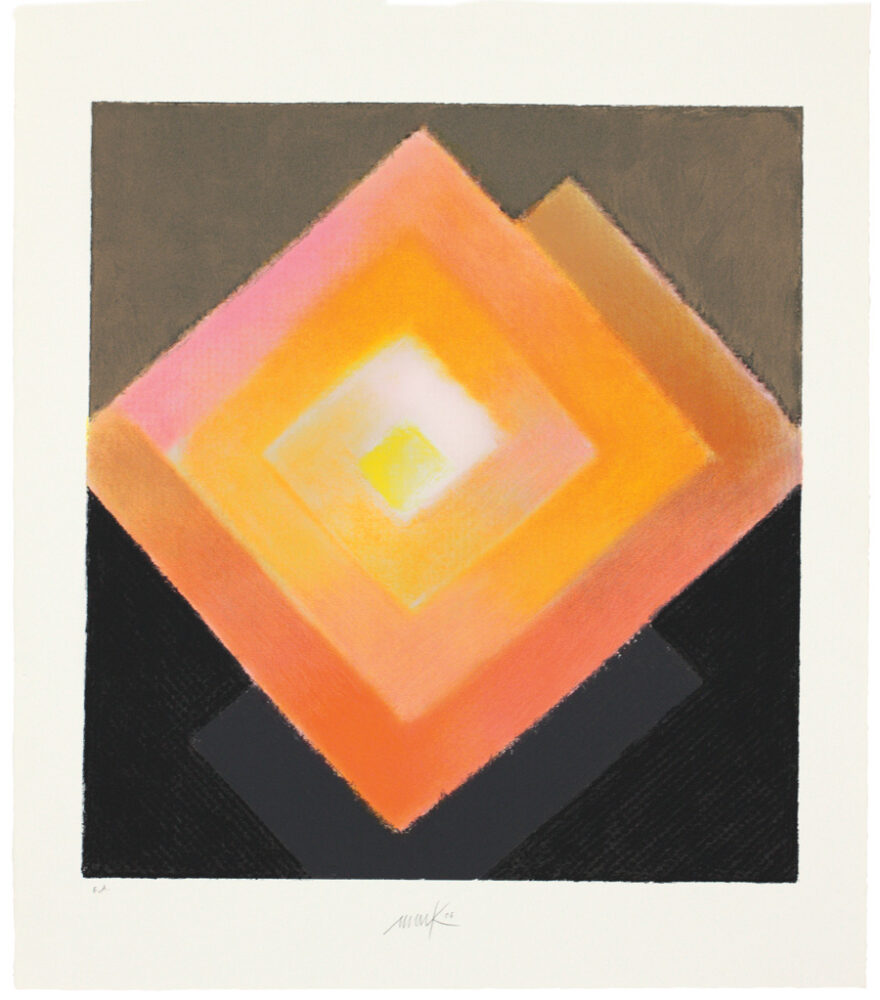 Heinz Mack, Die Spirale, 2006