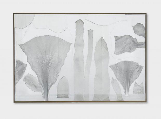 Heinz Mack Auktionsrekord kleiner Urwald 1966