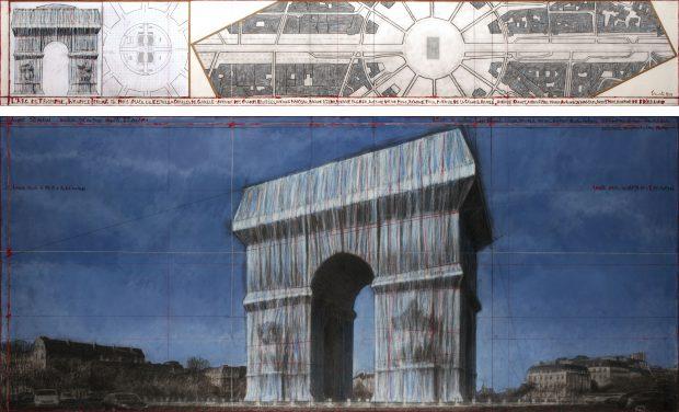 Verhüllung Arc de Triomphe