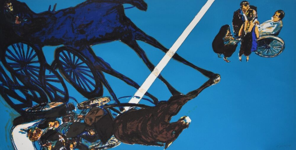 Titelbild der Ausstellung: Norbert Tadeusz. Wirklichkeit und Illusion©Norbert Tadeusz Estate und VG Bild-Kunst, Bonn