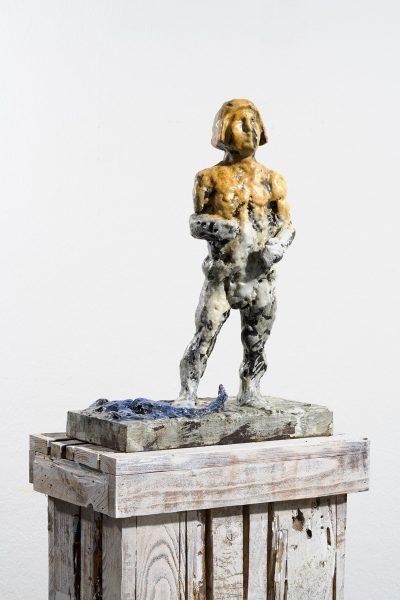 Sternzeichen – Skorpion, Skulptur, 2018