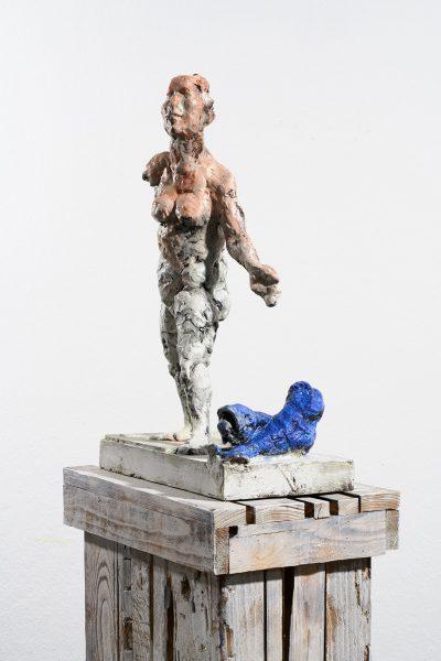 Markus Lüpertz, Sternzeichen – Fische, Skulptur, 2018