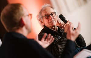Christoph Amend vom ZEITmagazin im Gespräch mit Christo