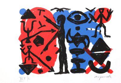 A.R. Penck, Ohne Titel, 1993