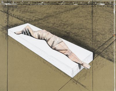 Christo, Wrapped Woman, Project for the Institute of Contemporary Art, 1997