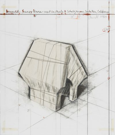 Christo, Wrapped Snoopy House, 2004